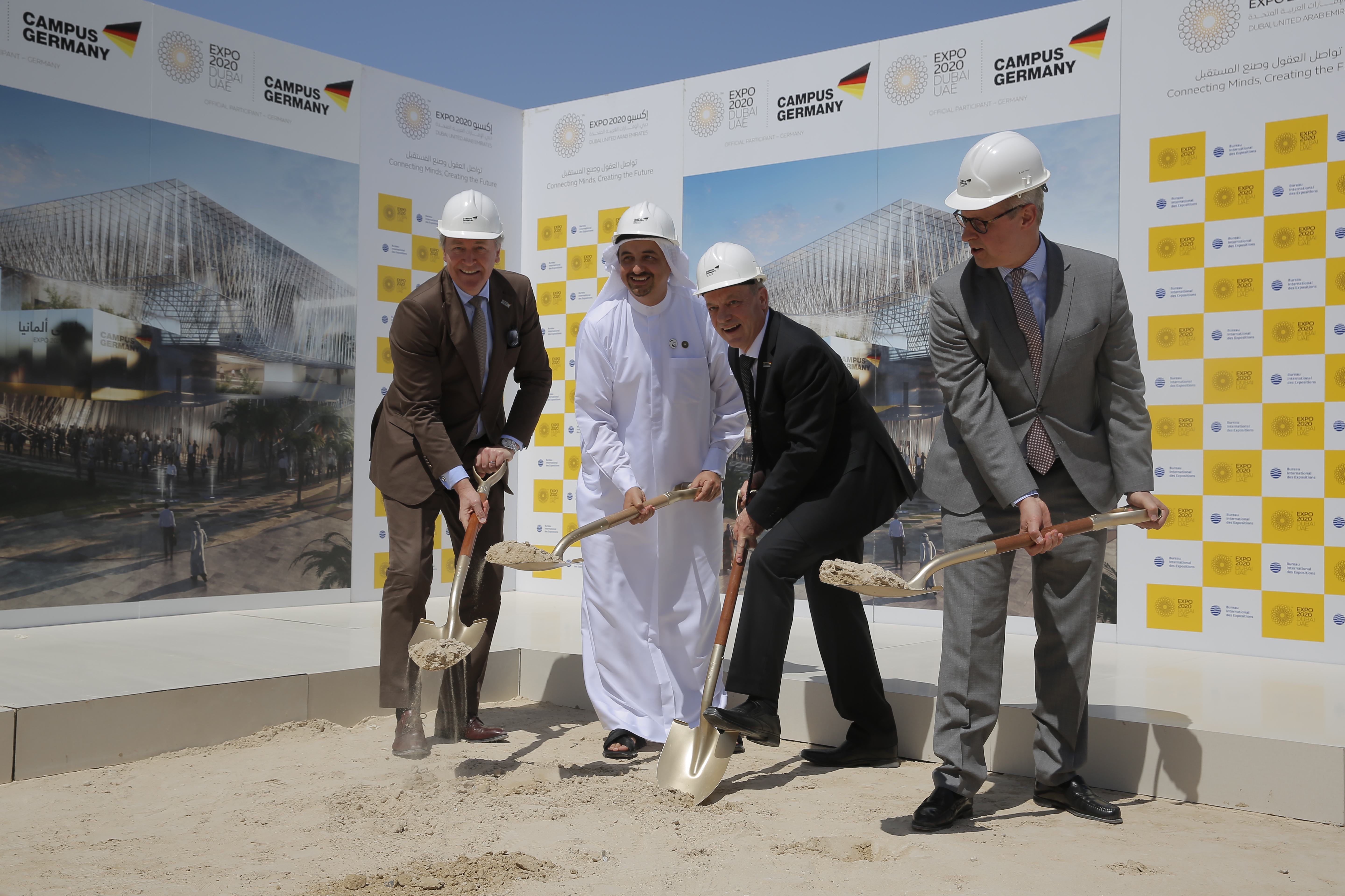 Official groundbreaking ceremony marks beginning of construction